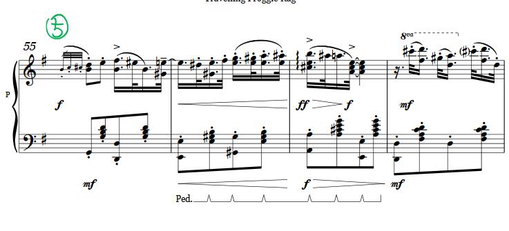 【旅行青蛙】【旅かえる】【钢琴谱】