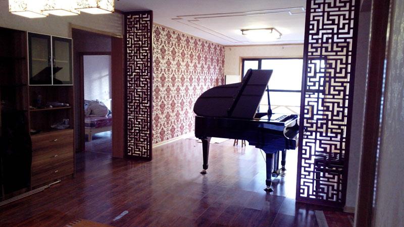 客厅放多大的三角钢琴比较合适